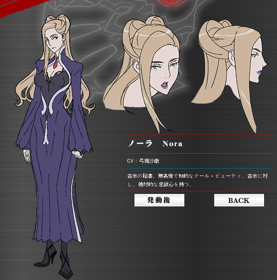 Image - Aoi kain.jpg   All of the bloodriver famliy Wiki ...  Witchblade Nora