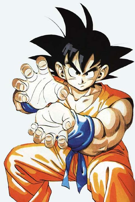 Goku from Dragon Ball Z
