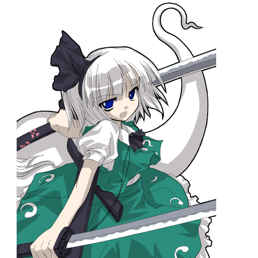 Female Characters With Red Hair Youmu Konpaku from Tou...