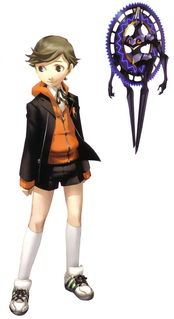 Ken Amada From Shin Megami Tensei Persona 3