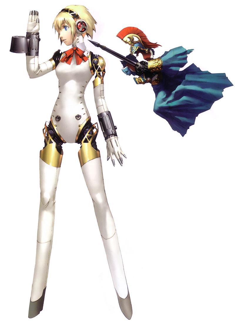 Persona 4 Anime Characters Database : Aigis from shin megami tensei persona