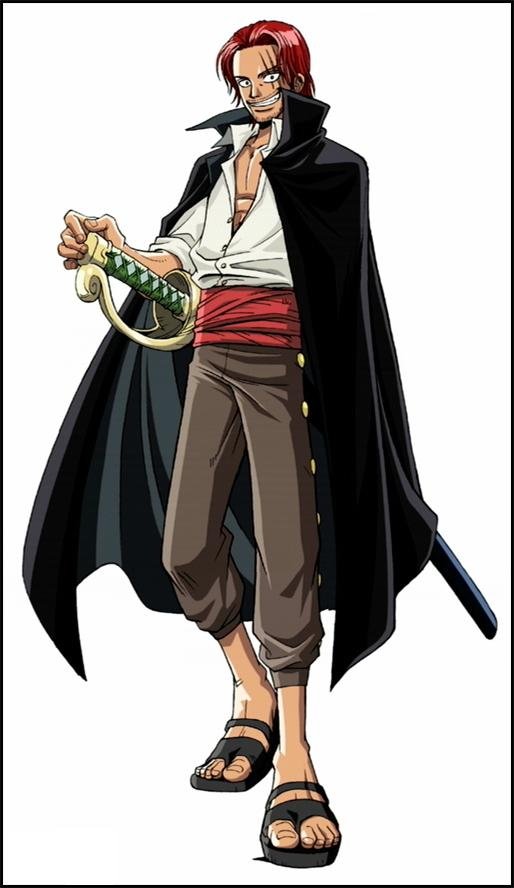 Piece Anime Characters : Shanks from one piece