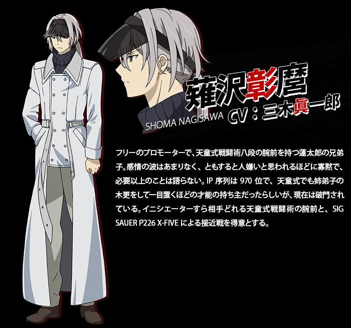 Shouma Nagisawa From Black Bullet