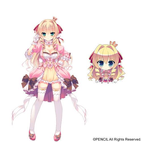 Wayne Marigold Princess Image: Marigold Bruette Erland From Love Love ♥ Princess ~Ohime-sama Ga Ippai! Motto Ecchi Na Harem