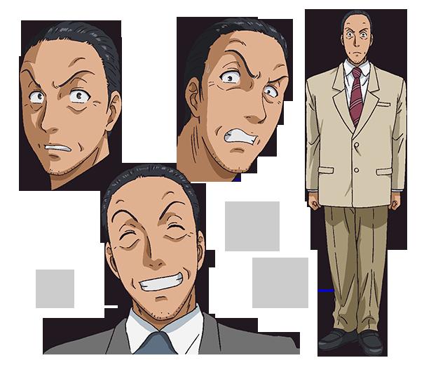 Isamu Kenmochi From Kindaichi Case Files Returns