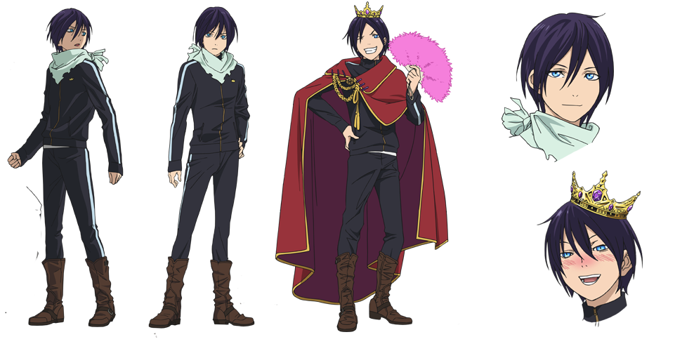 Character Design Studio : Yato from noragami