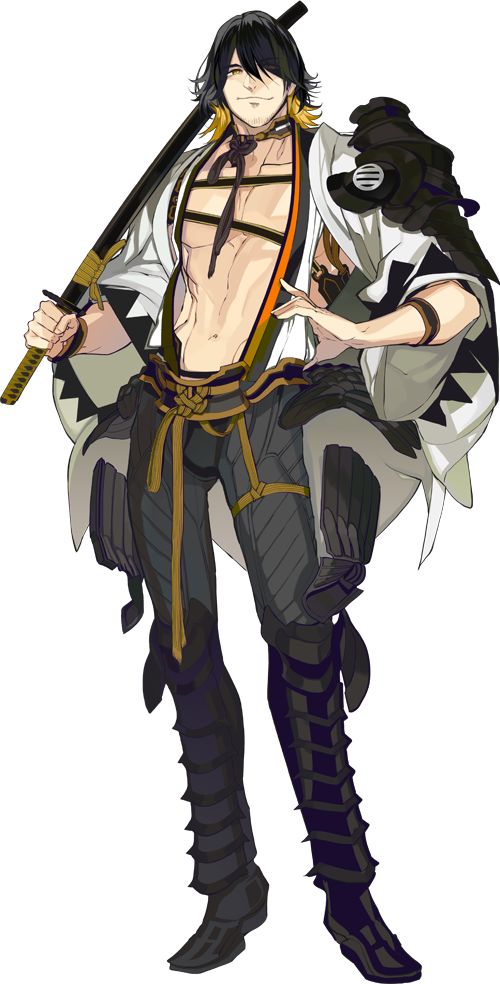 Anime Characters Png : Nagasone kotetsu from touken ranbu
