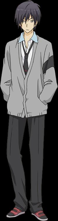 Anime Characters Png : Akira inukai relife