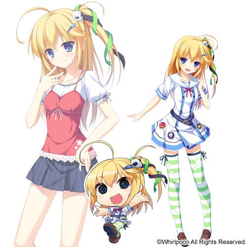 G Anime Character : Sorami otonashi g i b girls in black