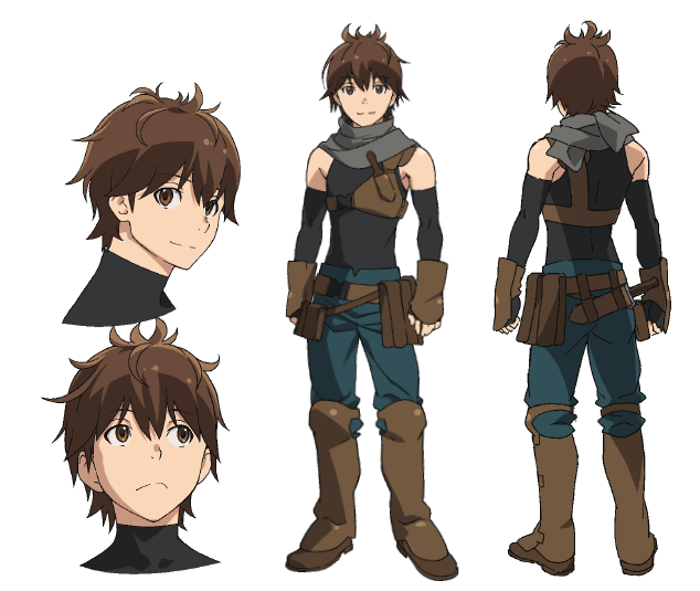 Haruhiro From Grimgar Of Fantasy And Ash