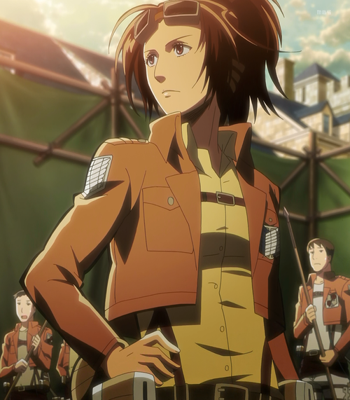 Zoe Hange From Attack On Titan