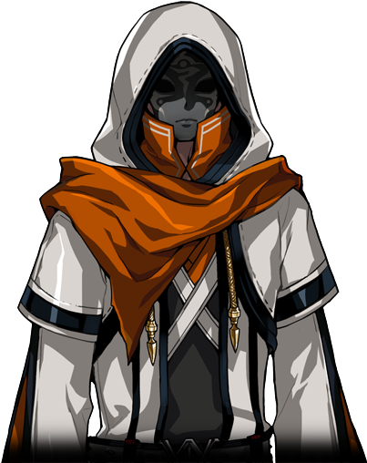 Anime Characters Png : Black mask from mabinogi
