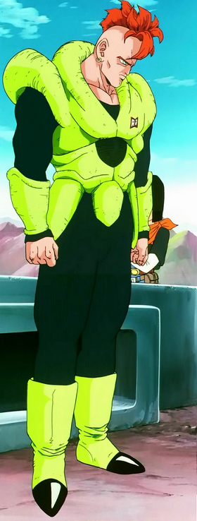 Dragon Ball Z Anime Characters Database : Android from dragon ball z