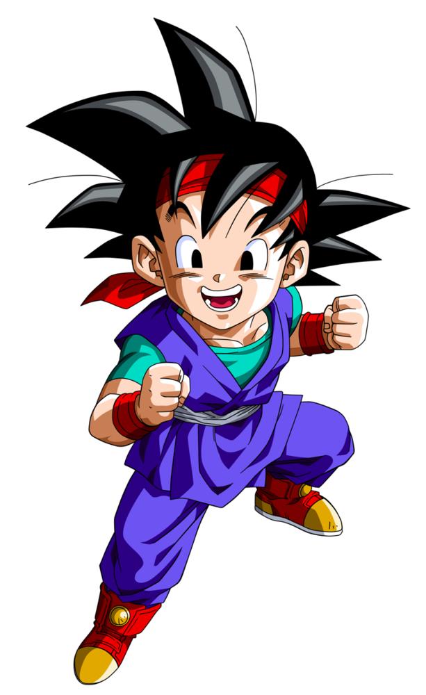Goku Jr From Dragon Ball Gt