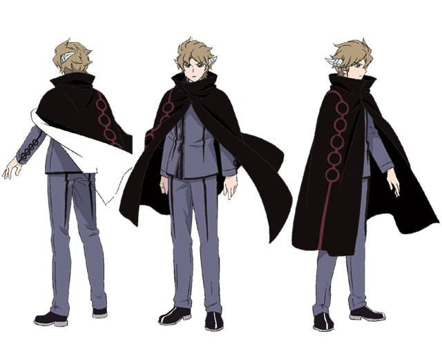 Trigger Anime Characters : Hyuse from world trigger