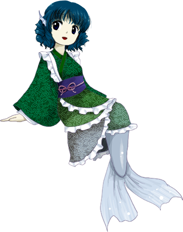Wakasagihime From Touhou Project
