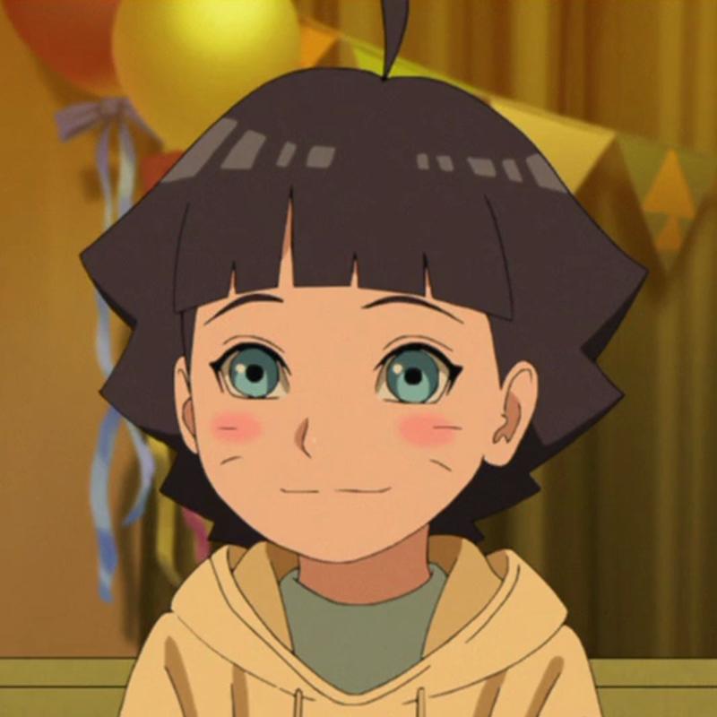 うずまきヒマワリ: Himawari Uzumaki From Boruto: Naruto The Movie