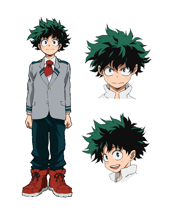 Izuku Midoriya From My Hero Academia