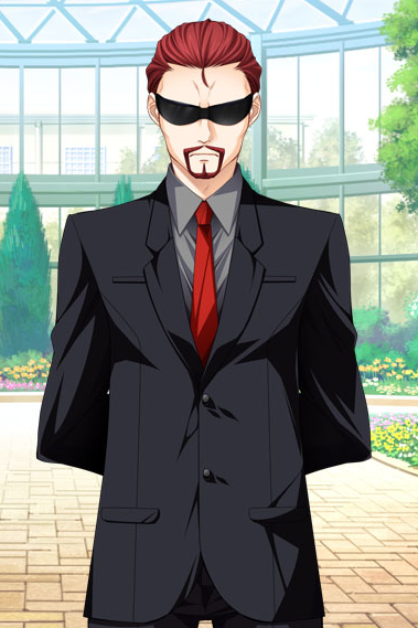 Anime Characters In Suits : Employee black suit from duelist engage