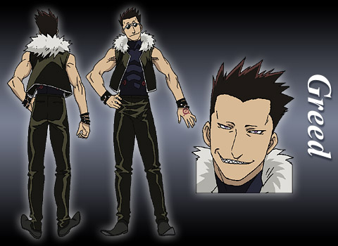 Greed from Full Metal Alchemist