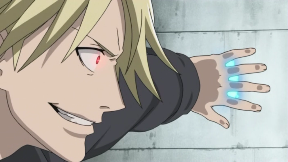 Anime Characters Powers : Jean from darker than black the contractor