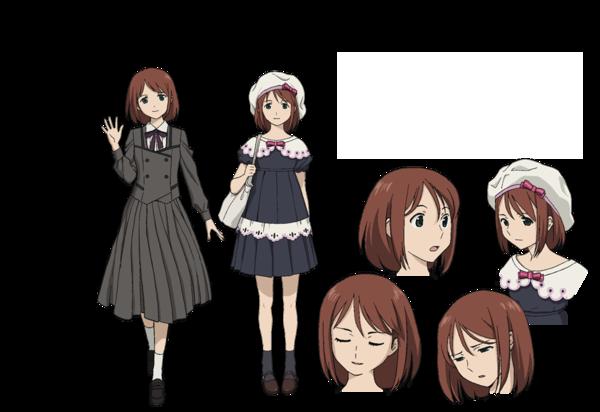 Anime Character Quon : Kiri jougasaki from towa no quon chapter fleeting petals