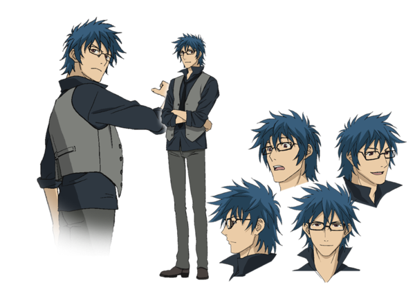 Anime Character Quon : Ryou sasamaki from towa no quon chapter fleeting petals