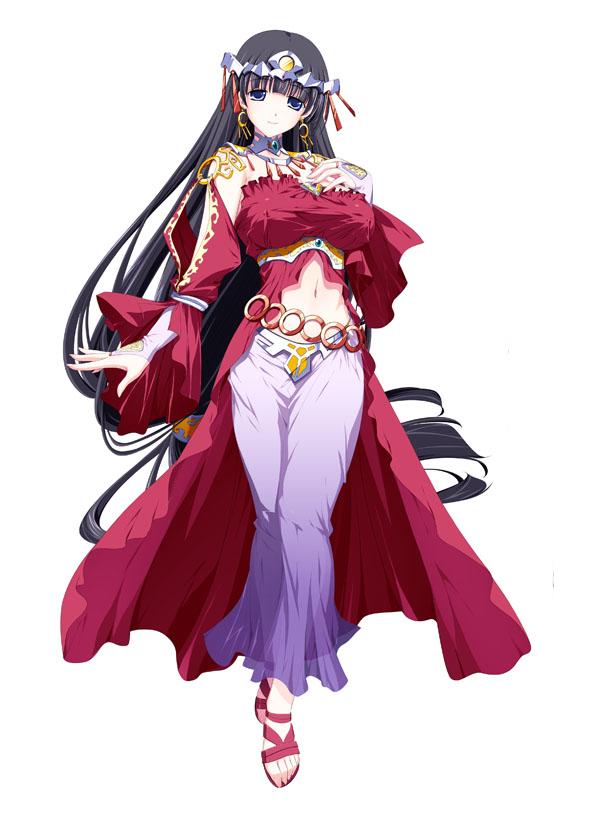 Freya Fertility God Of Shugetsu From Venus Blood Frontier