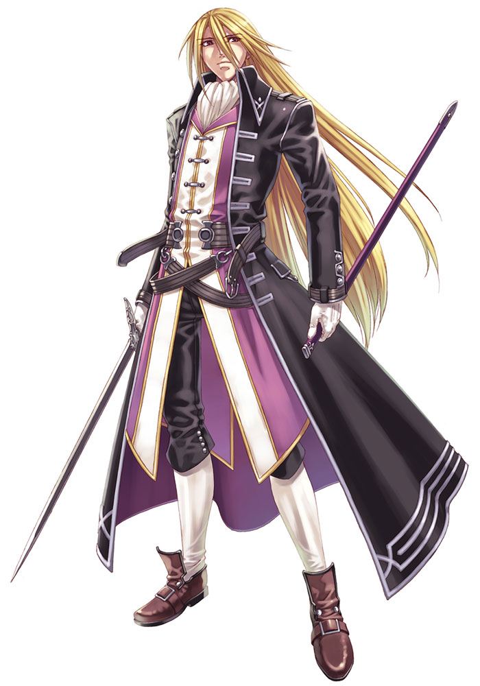 Anime Characters Knights : Edvalt from blazing souls