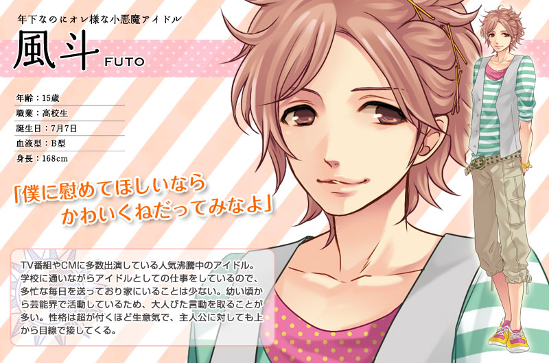 Futo from brothers conflict 445 views