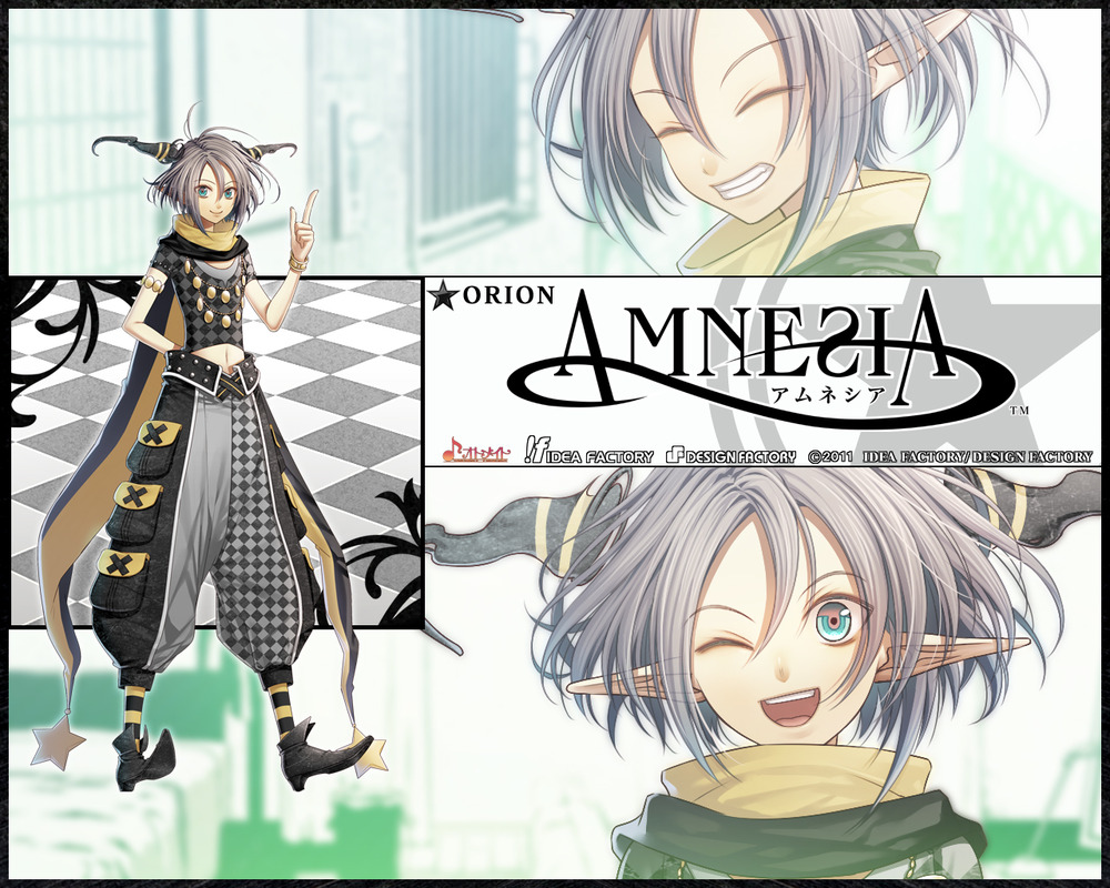 Anime Characters Database : Orion from amnesia world