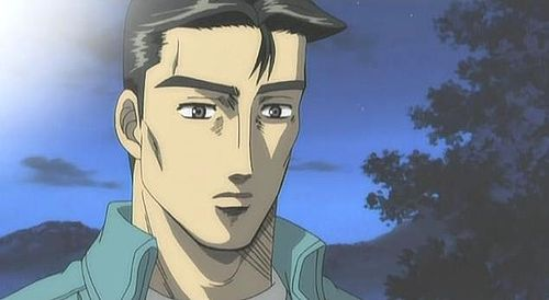 Initial D Anime Characters : Shuichi matsumoto from initial d