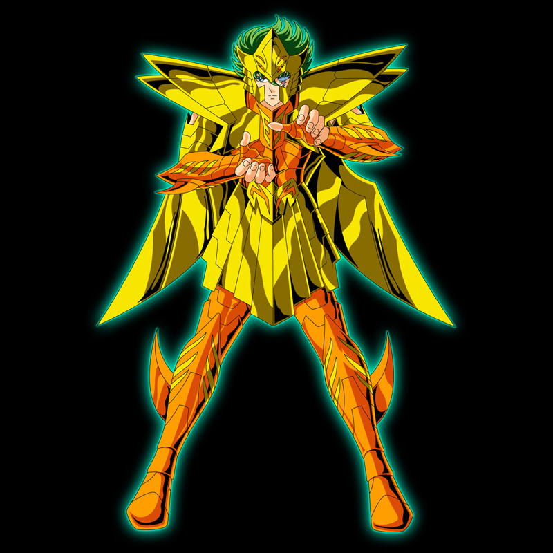 Isaak From Saint Seiya