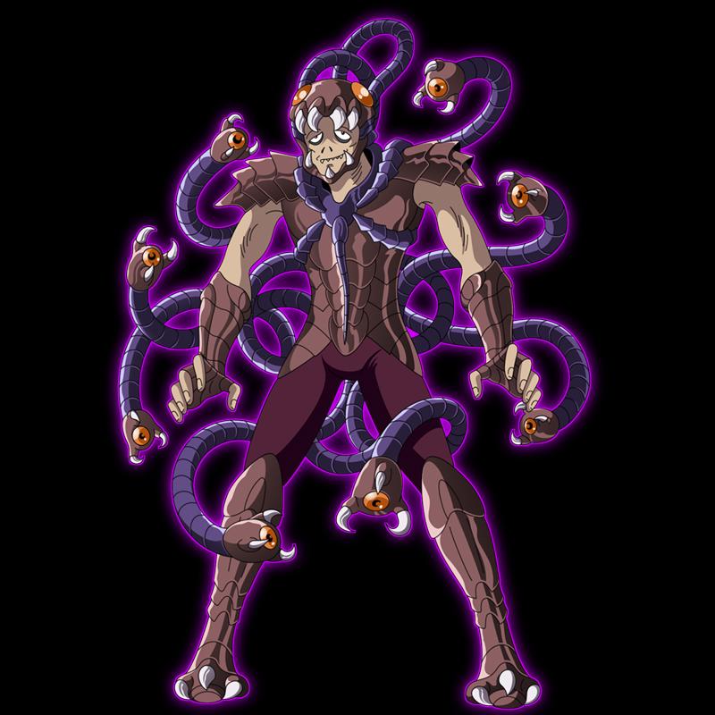 Raimi From Saint Seiya: The Hades Chapter