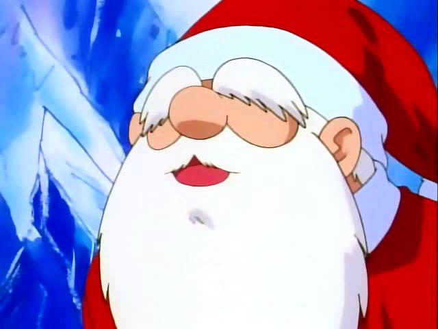 Santa claus from pokemon indigo league