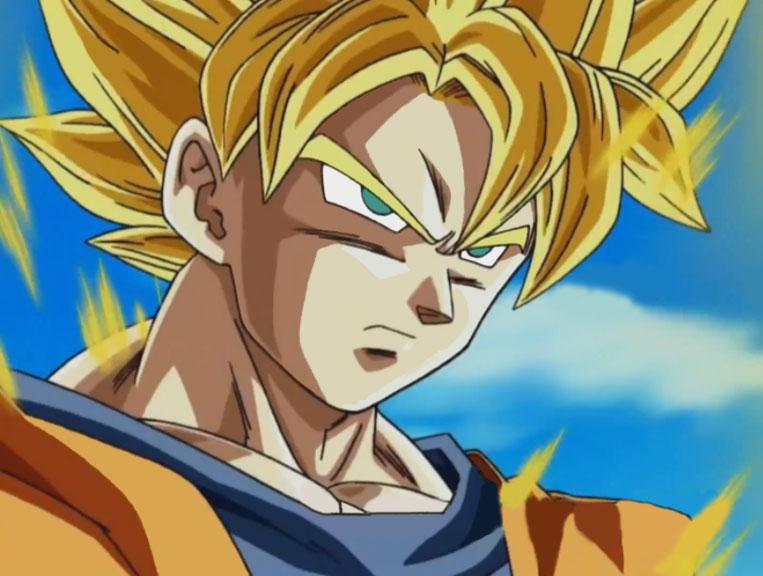 Dragon Ball Z Anime Characters Database : Super saiyan goku from dragon ball z