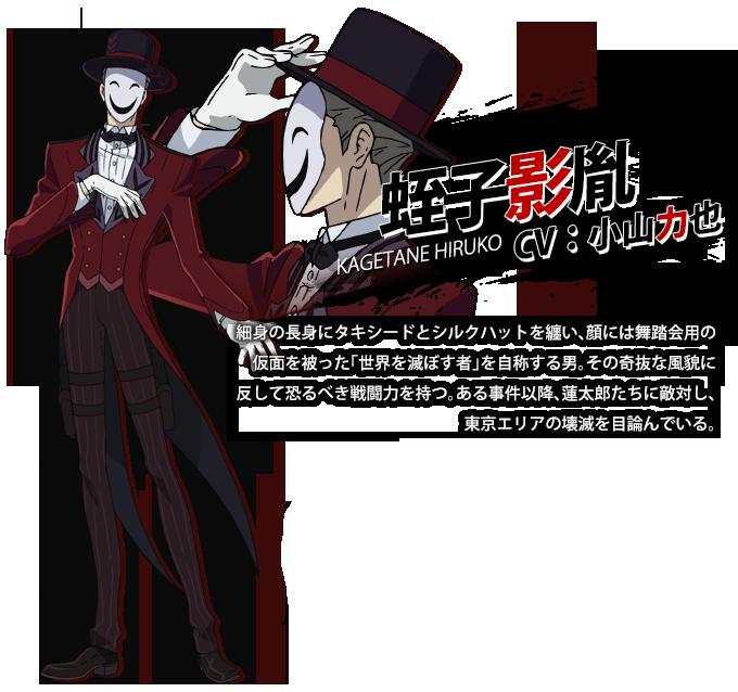 Kagetane Hiruko From Black Bullet