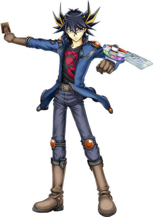 Yusei Fudo from Yu-Gi-Oh! 5D's