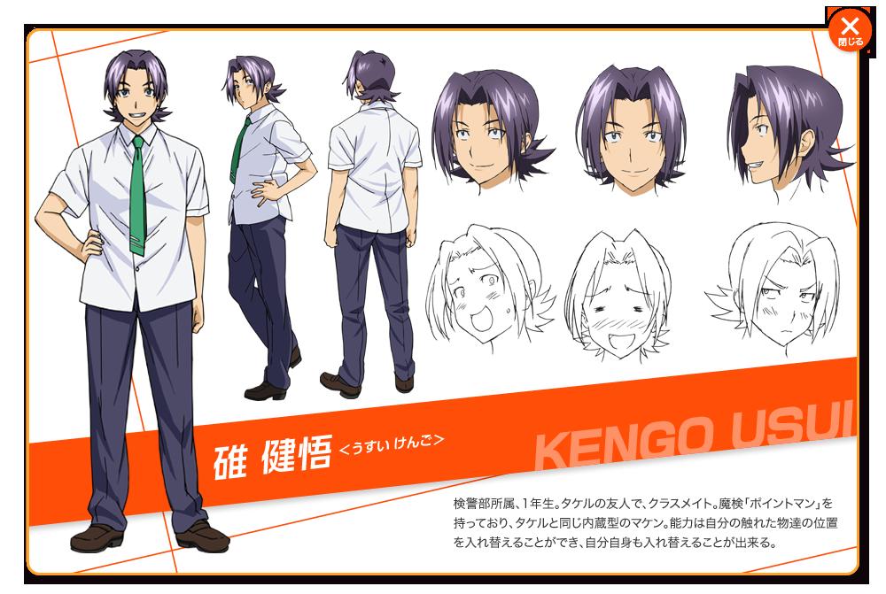 Kengo Usui From Maken Ki