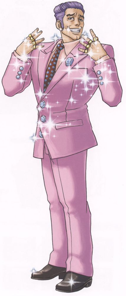 Redd White From Phoenix Wright Ace Attorney