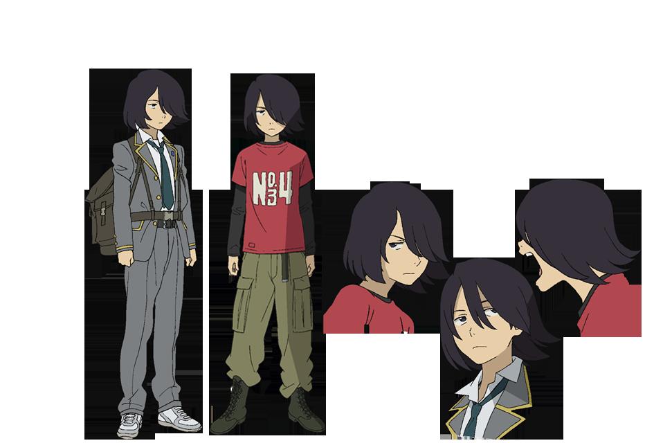 Anime Character Quon : Kaoru from towa no quon chapter fleeting petals