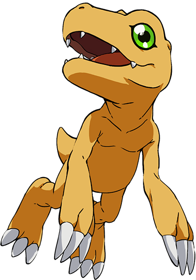 Agumon From Digimon Adventure