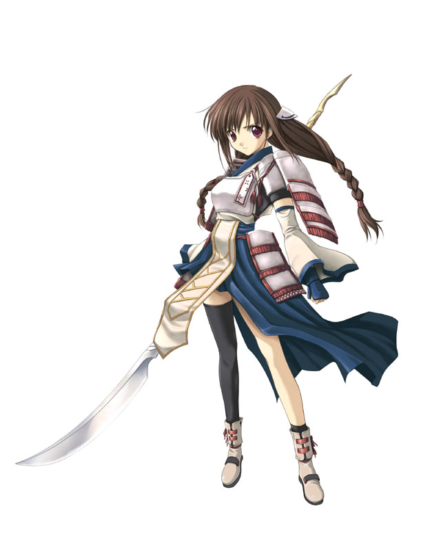 Anime Character 2 : Talia from seinarukana the spirit of eternity sword