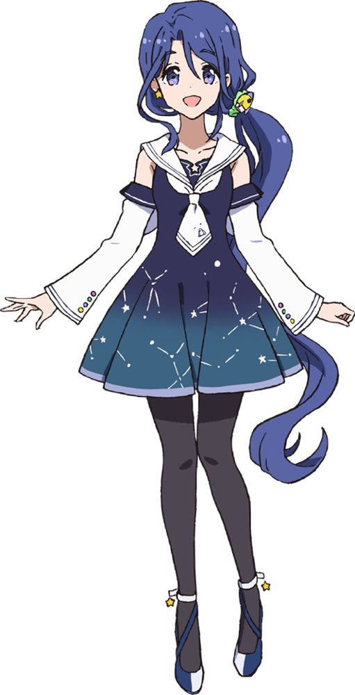 Anime Characters Full Body : Mika kozuru from idol incidents