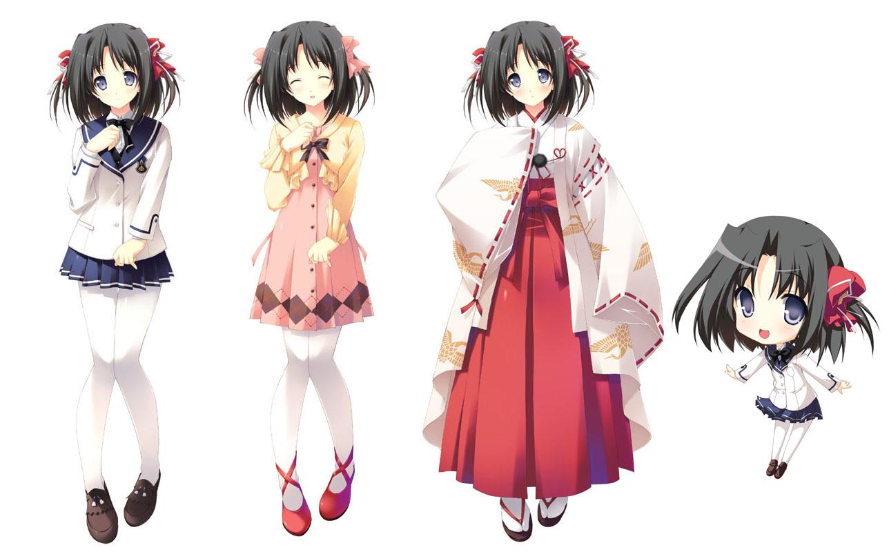 Anime Characters Database : Honoka kamishiro love quad