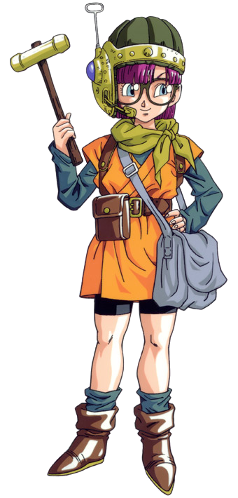 Trigger Anime Characters : Lucca from chrono trigger