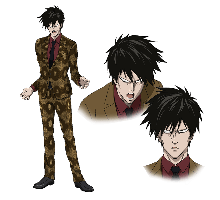 Anime Characters Using Fist : Biting snake fist sneck from one punch man