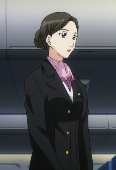 chief flight attendant from cat planet cuties