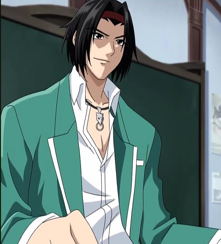 Anime Characters Vampire : Ginei morioka from rosario vampire