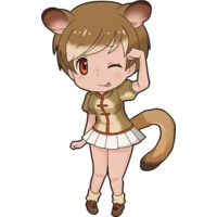 Brown Greater Galago